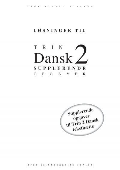 Trin 2 Dansk