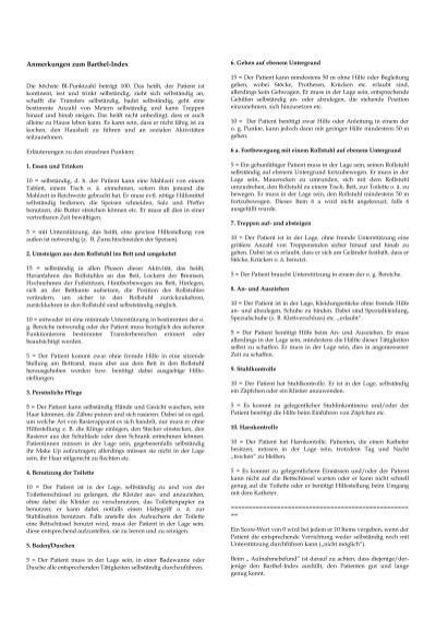 FrhrehaBarthelIndex  HELIOS Kliniken GmbH