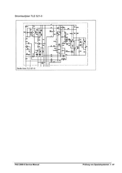 Stromlaufplan TLE 521-0 P