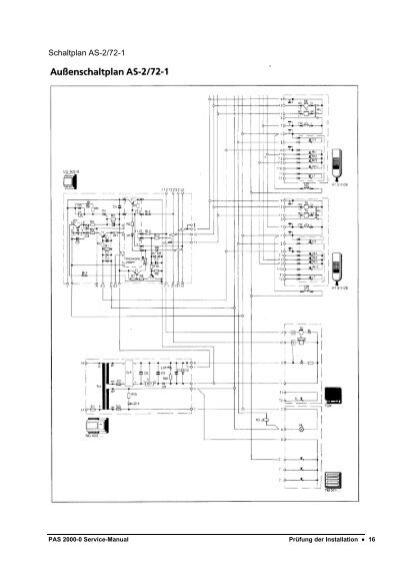 Schaltplan AS-2/71b-1 PAS