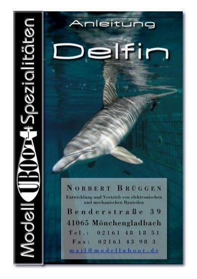 Anleitung Delphin  ModellUbootSpezialitten