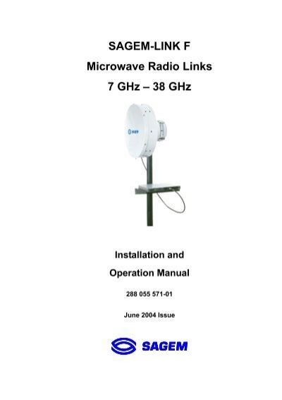 SAGEM-LINK F Microwave Radio Links 7 GHz
