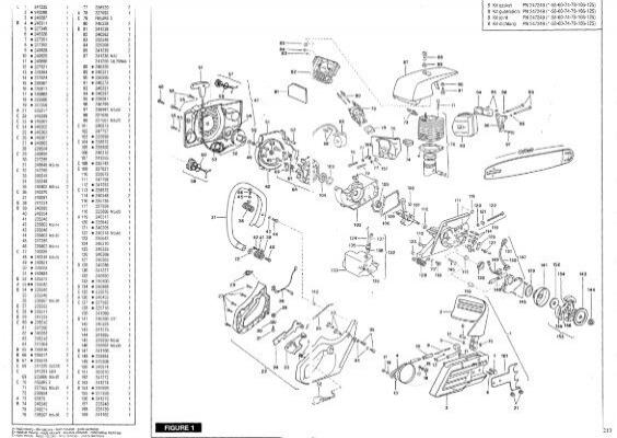 IPL, McCulloch, Euromac, Mac Cat 330, 38, 40, 1997-01