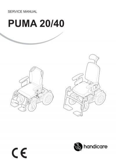 Service manual Puma 20/40