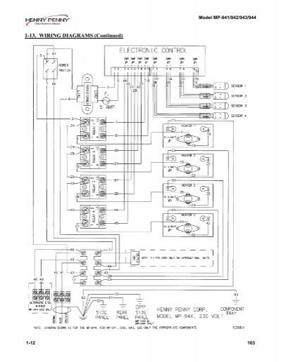 1-13. WIRING DIAGRAMS (Co