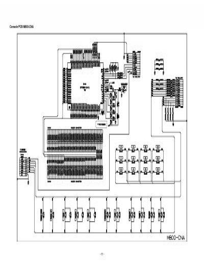 Console PCB M800-CNA