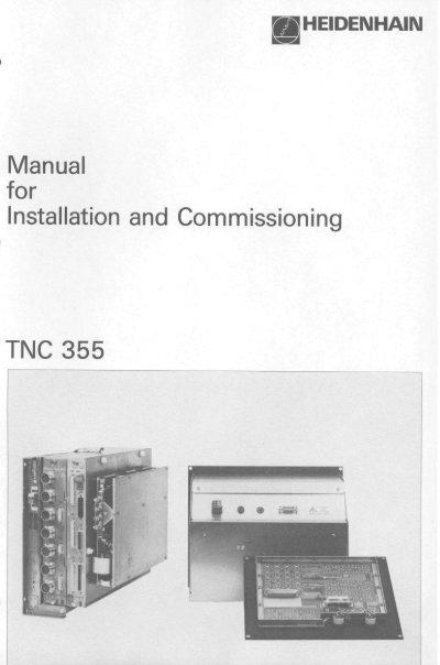 heidenhain encoder rod 431 wiring diagram light switch australia and tnc 355 manual for installation missioning