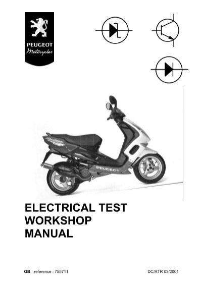 Peugeot electrical test workshop manual (755711