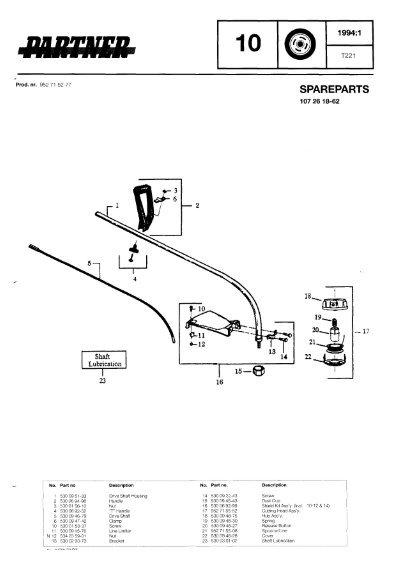 IPL, Partner, T221, 952715277, 1994-01, Trimmer