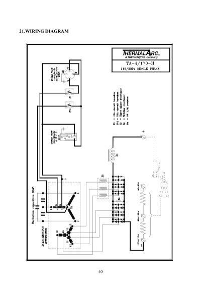 welder generator wiring diagram yk210e