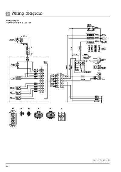 6 Wiring diagram HYDRONIC