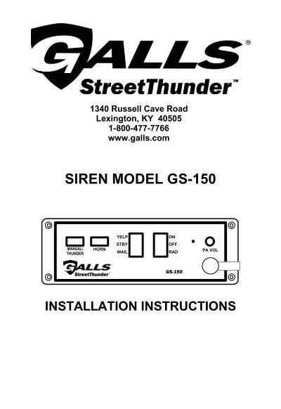 Galls St160 Wiring Diagram Free Download • Playapk.co