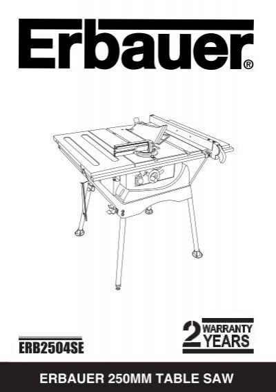Erb2504se Free Instruction Manuals Com