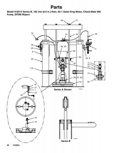 Parts Model 918314 Series