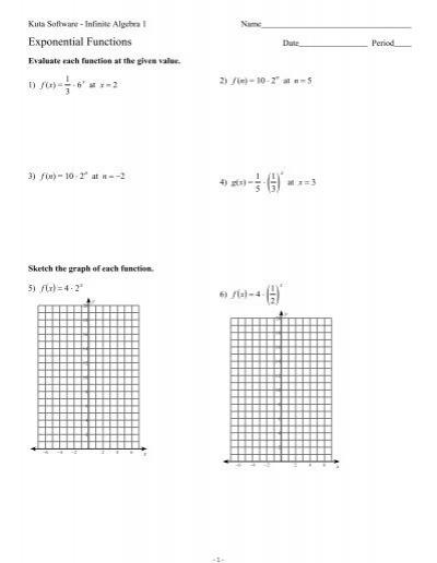 Printables. Graphing Trig Functions Worksheet