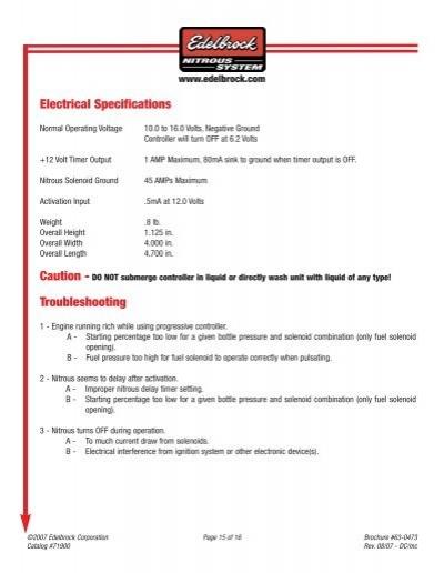 71900 edelbrock wiring diagram controller