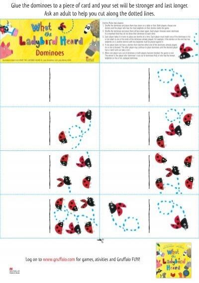 What the ladybird heard dominoes  Pan Macmillan