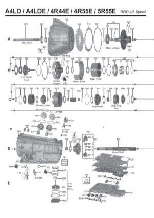 5r55e Transmission Diagram | WIRING DIAGRAM