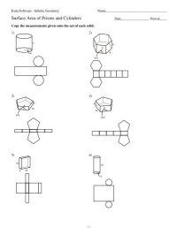 All Worksheets  Geometry Surface Area Worksheets ...