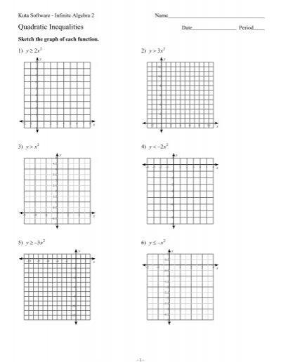 34 Kuta Software Infinite Algebra 1 Graphing Lines