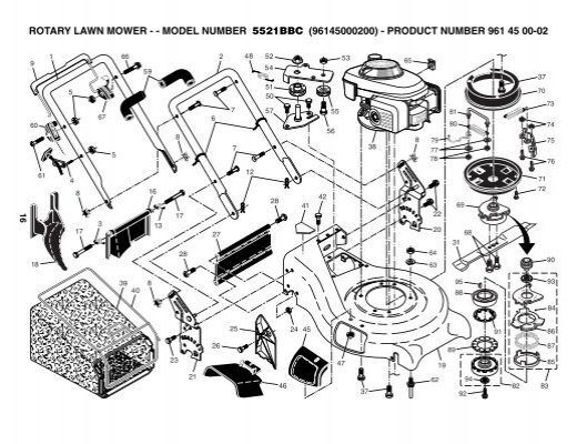 ipl, 5521bbc, rotary lawn mower, lawn mowers: consumer