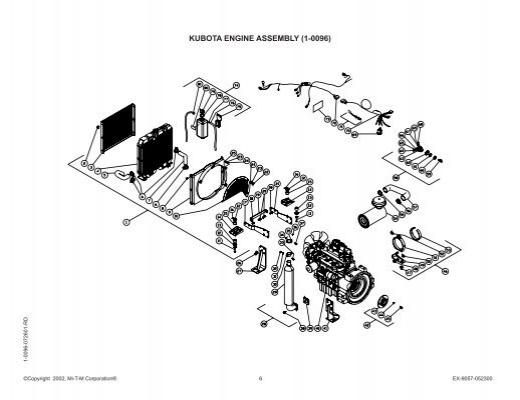 KUBOTA ENGINE ASSEMBLY (1