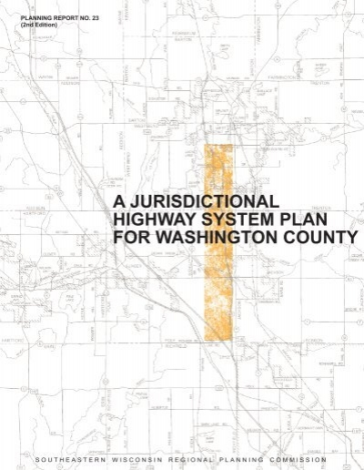a jurisdictional highway system plan for washington county