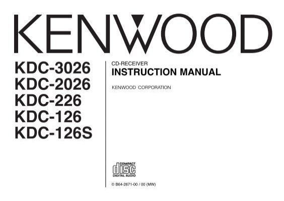 Kenwood Kdc X459 Wiring Diagram Free Download • Playapk.co