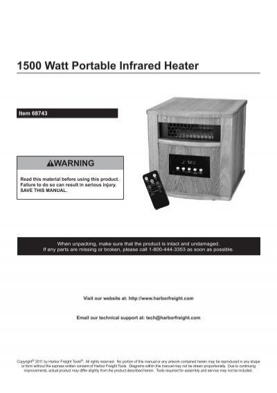120v Garage Heater Harbor Freight | Dandk Organizer