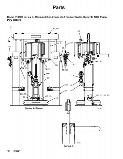 Parts Model 918481 Series