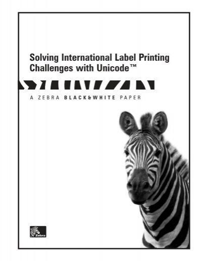 Solving International Label Printing Challenges with