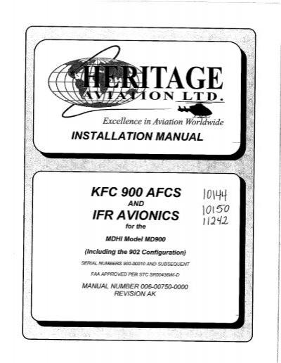 Installation Manual KFC 9
