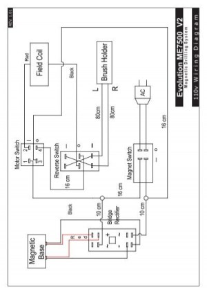 LY Wiring Diagrams VER101 A1indd  Evolution Power Tools Ltd