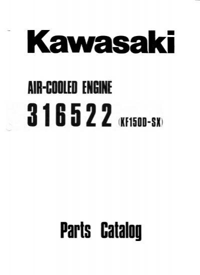 Kawasaki KF150D-SX Parts List