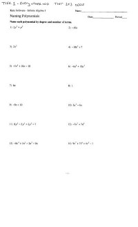 Multiplying Dividing Monomials Worksheet Free Worksheets ...