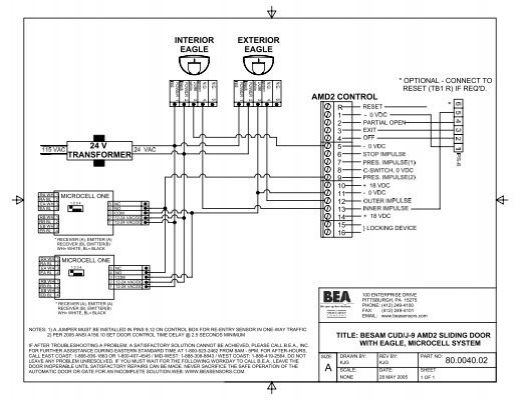 Besam Auto Door Wiring Diagram