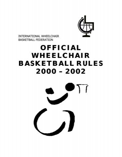 Official Wheelchair basketball Rules 2000/2002