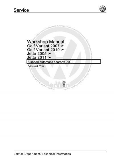6-speed automatic gearbox 09G.pdf