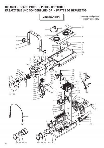 MINI SCAN HPE 200-240V 50/60Hz C11085 MINI