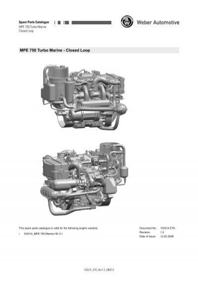 Spare Parts Catalogue