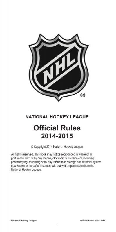 National Hockey League Of