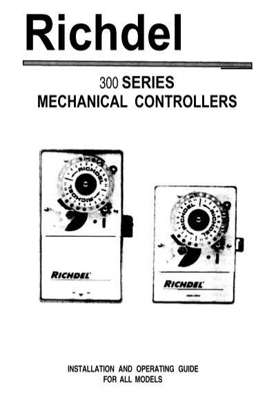 Richdel Lawn Genie 300 Series Controller Owner's