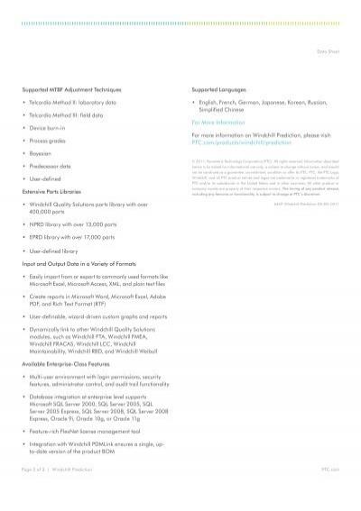 Data Sheet Automates Comp