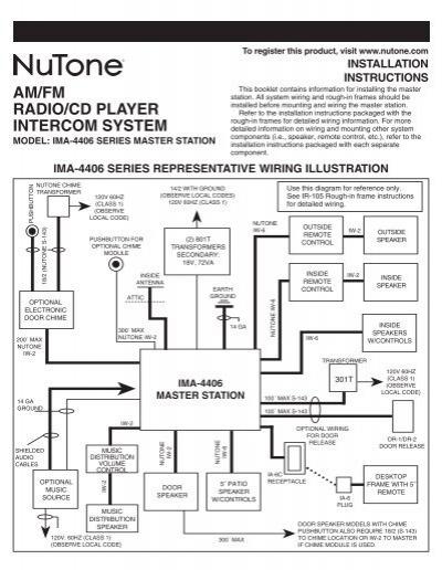 Nutone Im 3303 Wiring Diagram : 29 Wiring Diagram Images