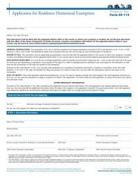 Homestead Exemption Form - Hidalgo County Appraisal District