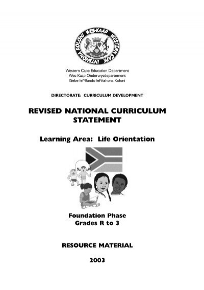 Life Orientation LEARNING