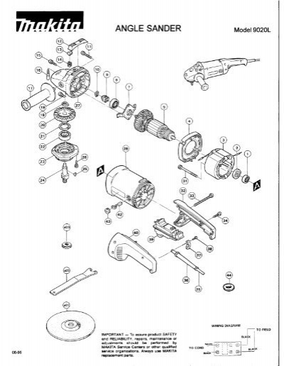 Makitum 9227c Wiring Diagram