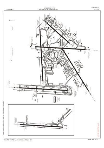 aerodrome chart amsterdam / schiphol airport eham 2-2-1.1