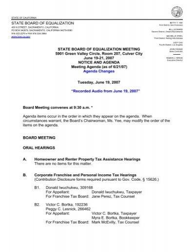Registration Help State Board Of Equalization
