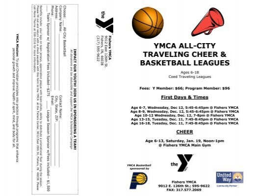 All-City Traveling Basketball & Cheer Registration Form
